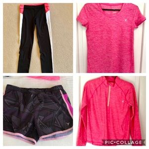 Bundle 4 pieces Old Navy active  16 black white